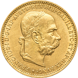Zlatá minca, 20KORÚN, František Jozef I., 1902