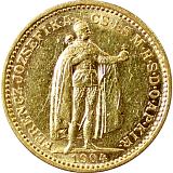 Zlatá mince, 20KORUN, František Josef I., 1904