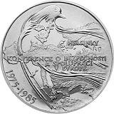 Pamětní stříbrná mince, 100Kčs Konference v Helsinkách stand
