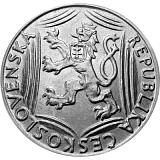 Pamětní stříbrná mince, 100Kčs Třicáté výročí vzniku Československé republiky stand
