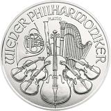 Investiční platinová mince 100EUR Wiener Philharmoniker 1 oz
