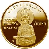 Pamětní zlatá mince, 50000HUF Irena Uherská proof