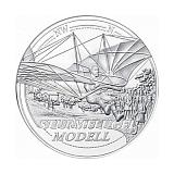 """Pamětní stříbrná mince, 20EUR """"Dosáhnout oblohy - Sen o letu"""" proof"""
