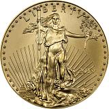 Investiční zlatá mince 25USD American Eagle 1/2 oz