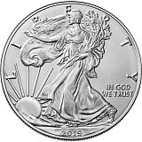 Investiční stříbrná mince 1USD US Eagle 1 oz