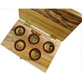 Sada pamětních zlatých mincí, 1NIS Biblické postavy proof