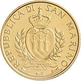 """Pamětní mince, 5EUR """"San Marino 5G"""" stand"""