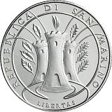 """Pamětní stříbrná mince, 5EUR """"Mezinárodní den lesů"""" v sadě oběžných mincí 2019"""