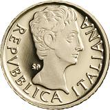 """Pamětní zlatá mince, 10EUR """"Série Římští císaři - Augustus"""" proof"""
