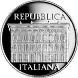 Pamätná strieborná minca, 5EUR 100. výročie úmrtia Cesara Maccariho proof