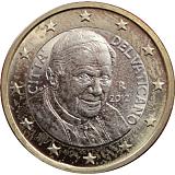 Pamětní mince, 1EUR Pontifikát papeže Benedikta XVI. 2012 stand