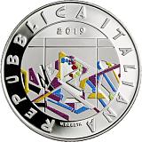 Pamätná strieborná minca, 5EUR 30. výročie pádu Berlínskeho múru proof