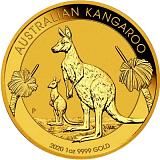 Investiční zlatá mince 100AUD Austrálie Kangaroo 1 oz