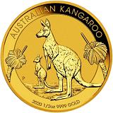 Investiční zlatá mince 50AUD Austrálie Kangaroo 1/2 oz