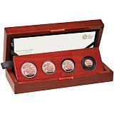Sada zlatých investičních mincí Sovereign 2020 proof