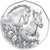 """Pamätná strieborná minca, 5EUR """"Veľkonočné mince 2020"""" stand"""