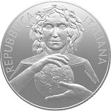"""Pamětní stříbrná mince, 5EUR """"Mezinárodní rok zdraví rostlin"""" v sadě oběžných mincí 2020 stand"""