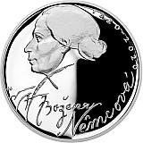 Pamětní stříbrná mince, 200Kč Božena Němcová proof
