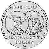 Pamětní stříbrná mince, 200Kč Zahájení ražby jáchymovských tolarů stand