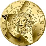 """Pamätná zlatá minca, 200EUR 1 oz 2020 """"Europa Star - Vek Gotiky"""" proof"""