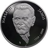 Pamětní stříbrná mince, 10000HUF 100. výročí narození Jánose Harsányi stand