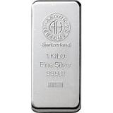 Investiční stříbro, slitek Argor Heraeus 1000 g