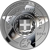 """Pamětní stříbrná mince, 10EUR """"Europa Star 2020 - Gotika"""" proof"""