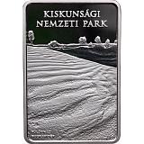 Pamětní stříbrná mince, 10000HUF Národní park Kiskunság proof