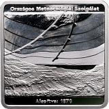 Pamětní stříbrná mince, 10000HUF 150. výročí Maďarské meteorologické služby proof