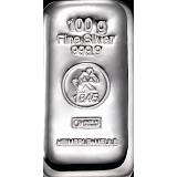Investiční stříbro, slitek Heimerle Meule 100 g
