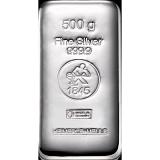 Investičné striebro, zliatok Heimerle Meule 500 g