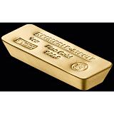 Investiční zlato, slitek Heimerle Meule 1 Oz Coffin shape