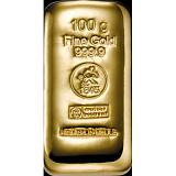 Investiční zlato, slitek Heimerle Meule 100 g
