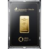 Investiční zlato, slitek Heimerle Meule 5 g