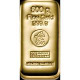 Investiční zlato, slitek Heimerle Meule 500 g