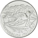 Pamätná strieborná minca, 5EUR Majstrovstvá sveta v alpskom lyžovaní 2021 stand