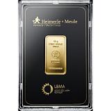 Investiční zlato, slitek Heimerle Meule 10 g