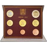 Sada oběžných mincí, Vatikán 2021