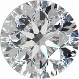 Diamant Round Brilliant 0.02, G-J, SI